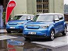 Korejská automobilka Kia Motors představila 12. září  v Praze elektrickou verzi...