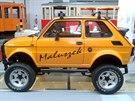 Verze Fiatu 126p s názvem Little Samurai. Národní a technické muzeum ve Štětíně