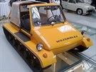 Prototyp Wszedolaz vycházející z polského Fiatu 126p. Národní a technické...