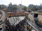 Ulice Barcelony zaplavily statis�ce Katal�nc� demonstruj�c�ch za pr�vo hlasovat...