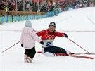 2006. Kate�ina Neumannov� zv�t�zila v posledn�m olympijsk�m z�vod� sv�...