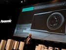 Panasonic Lumix CM1 p�edstaven� 15.9.2014 na veletrhu Photokina v Kol�n� nad...