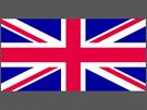současná britská vlajka Union Jack