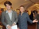 Janek Ledecký výtvarnému talentu syna nerozumí. Je na něj ale velmi pyšný.