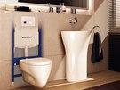 Předstěnový systém s názvem Duofix je primárně určený pro ukotvení závěsné WC...