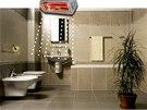 Pro větší koupelny se doporučuje příkon sálavých topidel 1500 až 2000 W.