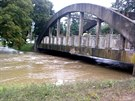 Rozvodn�n� Jevi�ovka v ned�li 14. z��� ve V�rovic�ch