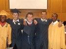 Ondřej Kania studoval v USA na soukromé střední škole dva roky.