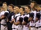 Čeští baseballisté před utkání ME s Itálií