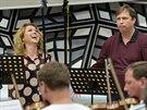 Sopranistka Petra Froese, tenorista Ferdinand von Bothmer a Symfonický orchestr...