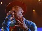 Producent Pharrell Williams odehrál svou tuzemskou premiéru 17.9. 2014 v pražské O2 aréně.