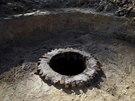 B�val� studna v m�stech, kde se rozkl�dal nacistick� vyhlazovac� t�bor Sobibor...