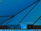 Nabídka dalších pracovních ploch ve Windows 9.