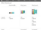 Na ofici�ln�ch str�nk�ch iPod Classic u� nehledejte