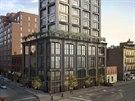 Dům stojí v centru West Chelsea, místa, kde v New Yorku nyní vyrůstá nejvíce...