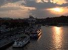 Konec léta na Vltav�