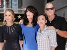 Christina Applegate, Katey Sagalov�, David Faustino a Ed O'Neill (Los Angeles,...