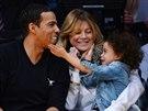 Ellen Pompeo, jej� man�el Chris Ivery a dcera Stella Luna (Los Angeles, 23....