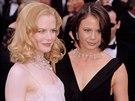 Nicole Kidmanová a její sestra Antonia (Los Angeles, 24. března 2002)