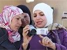 V jednom z projektů organizace B'Tselem spolupracuje s palestinskými