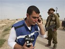 Pracovník organizace B'Tselem (16. 9. 2014).