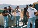 Pracovníci organizace B'Tselem (16. 9. 2014).