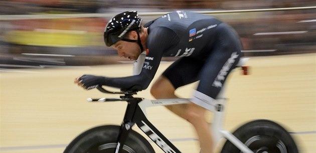 N�mecký cyklista Jens Voigt p�ekonal sv�tový rekord v hodinovce, jeho nový