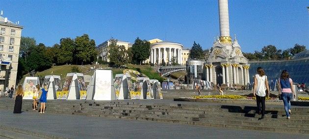 �My jsme na Majdan nezapomn�li, ale dnes máme jiné starosti. Voda te�e jen...