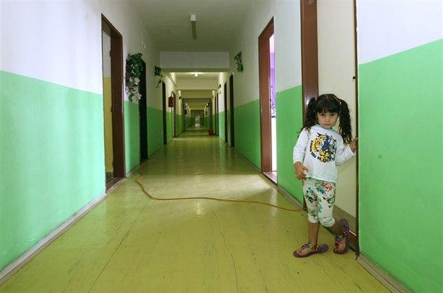 Snímek z jedné z p�erovských ubytoven