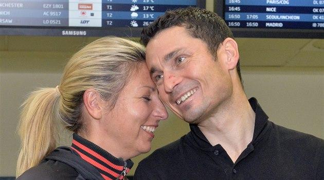 KONE�N� DOMA. Ji�í Je�ek s man�elkou So�ou. �estinásobný paralympijský vít�z v...