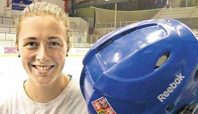 Hokejová reprezentantka Vendula P�ibylová