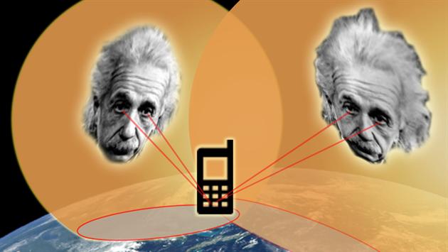 Albert Einstein a jeho rovnice pomohly k fungování systému GPS