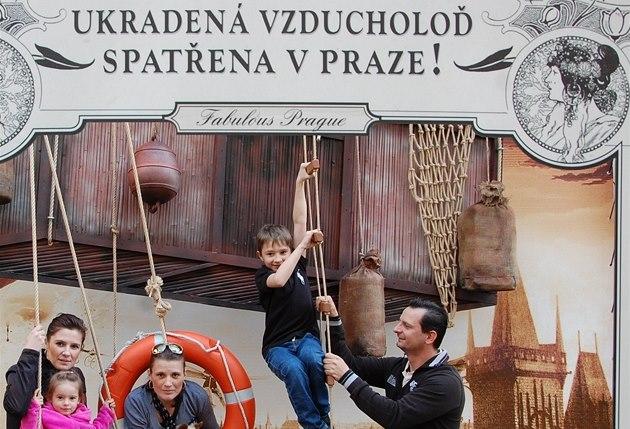 Muzeum Karla Zemana slaví s Ukradenou vzducholodí