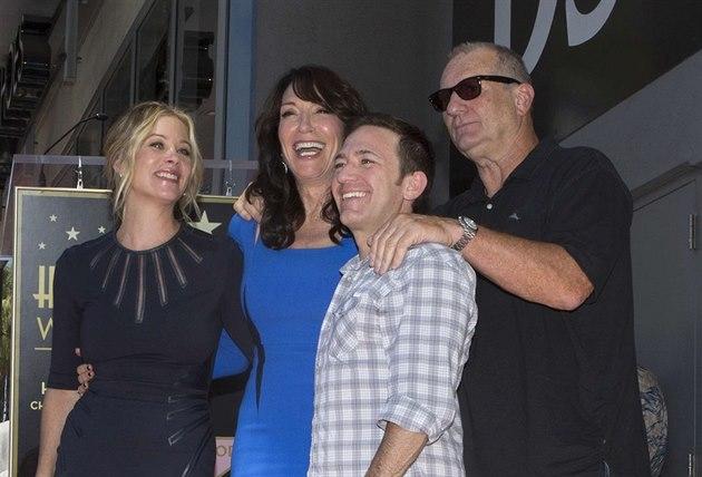 Christina Applegate, Katey Sagalová, David Faustino a Ed O'Neill (Los Angeles,...