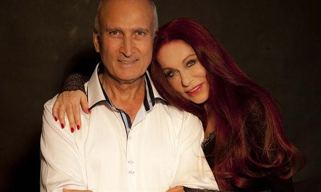 Blanka Matragi a její man�el Makram