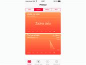 iOS 8 - novinkou je aplikace Zdrav�, kter� pomoc� pohybov�ho koprocesoru...