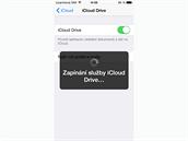 iOS 8 - vylepšená služba iCloud Drive.