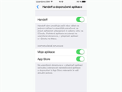 iOS 8 - funkce Handoff umožňuje mezi produkty od Applu dokončovat práci na...