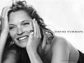 Topmodelka Kate Moss v podzimní kampani Davida Yurmana