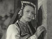 Věra Heroldová  v roce 1955 jako Milada ve filmové adaptaci Smetanovy opery...