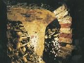 Kniha o svatojakubském podzemí je plná fotografií. Tahle je například úplně...
