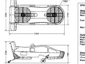 Předpokládaná podoba a výkony bezpilotního letounu AirMule. Výrobce sám...