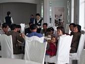 Luxusní restaurace a mezinárodní kuchyn� jsou obvykle výsadou severokorejské