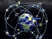 V současné době obíhá Zemi 31 satelitů systému GPS.