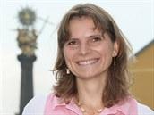 Lídryně hnutí Občané pro Olomouc Dominika Kovaříková.