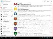 E-mailový klient Boxer spolupracuje se všemi běžnými freemailovými službami.