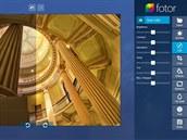 Fotor je jeden zmála dobře vybavených editorů fotografií pro tablety sWindows...