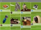 3D model vytvořené vaplikaci 123D Catch můžete snadno sdílet spříteli