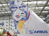 Airbus testuje inkoustový tisk pro letadla.
