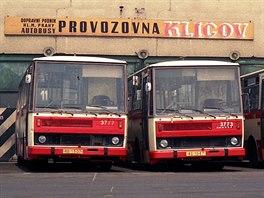 Autobusy typu B731 vozily Pražany městskou dopravou od roku 1982